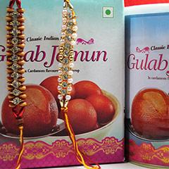 Rakhi with Gulab Jamun /></a></div><div class=