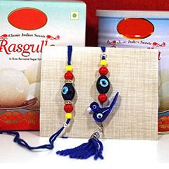 Bhaiya Bhabhi Rakhi with Rasgulla /></a></div><div class=