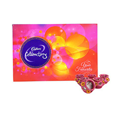 Cadbury Celebrations & Diya - Diwali Gifts