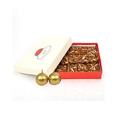 1 kg Doda Barfi & Candles - Diwali Gifts