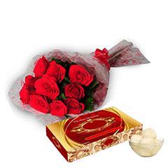 Roses & Rasgulla - Diwali Gifts
