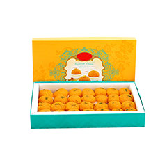 Motichoor Laddu- 1 kg - Diwali Gifts