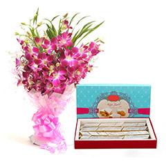 Orchids N Katli-Diwali - Diwali Gifts