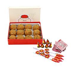 Diwali Ladoo & Crackers - Diwali Gifts