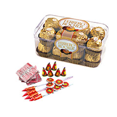 Ferrero & Crackers - Diwali Gifts