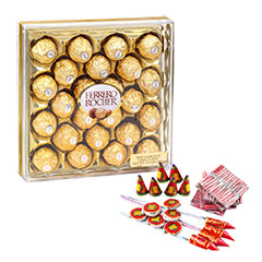 Chocolates & Crackers - Diwali Gifts