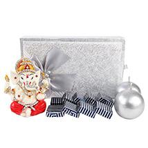 Chocolate Box with Ganesha & Diya