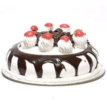 Eggless Blackforest Cake Half Kg
