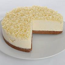 White Chocolate Truffle Cheesecake