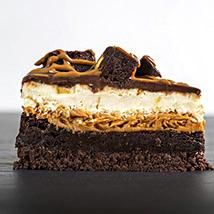 Beanut Putter Brownie Cheesecake