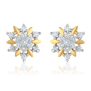 Mahi Shine Splash Earrings