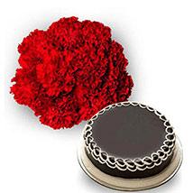 Carnations n Cake EXD28