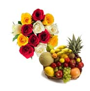 Roses N Fresh Fruits EXDFNP101