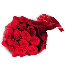 15 Red Roses Bouquet