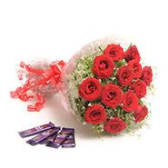 Roses N Chocolates EXDFNP602