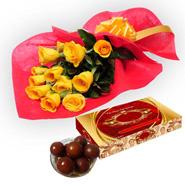 Roses N Gulab Jamun FNP99298