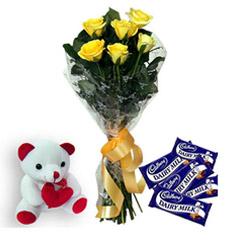 Roses N Chocolates EXDFNPLW28