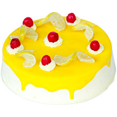 Eggless Lemon Vanilla 1kg - Diwali Gifts