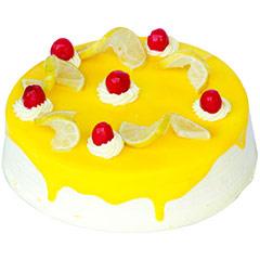 Eggless Lemon Vanilla 1kg - Diwali Gifts