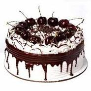 Eggless 2 Kg Blackforest Cake