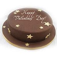 1 Kg Round Chocolate Truffle Cake