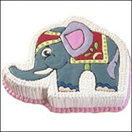 Elephant Shape Cake