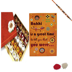 Rakhi Greeting with Sweets
