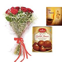 Rakhi with Roses
