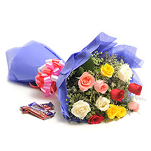 Fathers Day - Sweet Mix Roses
