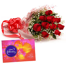 Fathers Day - Roses and Celebration