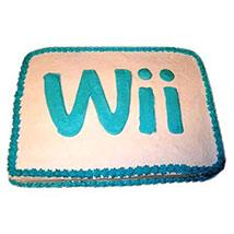 Wii Engaging Logo Cake 2kg