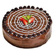 Chocolate Strawberry Cake For Mumbai