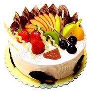 Fresh Fruit Cake 1kg.