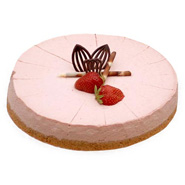 Strawberry Cheese Cake 1kg.