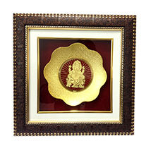 Golden Ganesha Frame