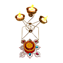 Exclusive Diwali Electric Candle Stand