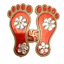 Divine Diwali feet Stickers