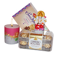 Diwali gift with candles