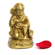 Hanuman Brass Idol