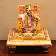 Alluring Marble Ganesha