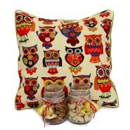 Printed Cushion N Dryfruits