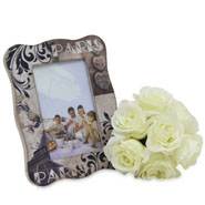 Photoframe With Flowers