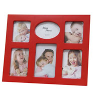Collated Red Photoframe