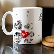Personalised Mug - Diamonds