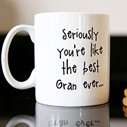 Personalised Mug - The Best Gran Ever