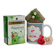Green Tea N Mug For Mom