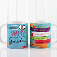 Personalize Mug For Grandma
