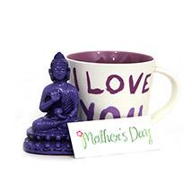 Buddha Idol N Mug For Mom