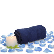 Aromatic Candle & Towel