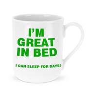 Sleep for days mug